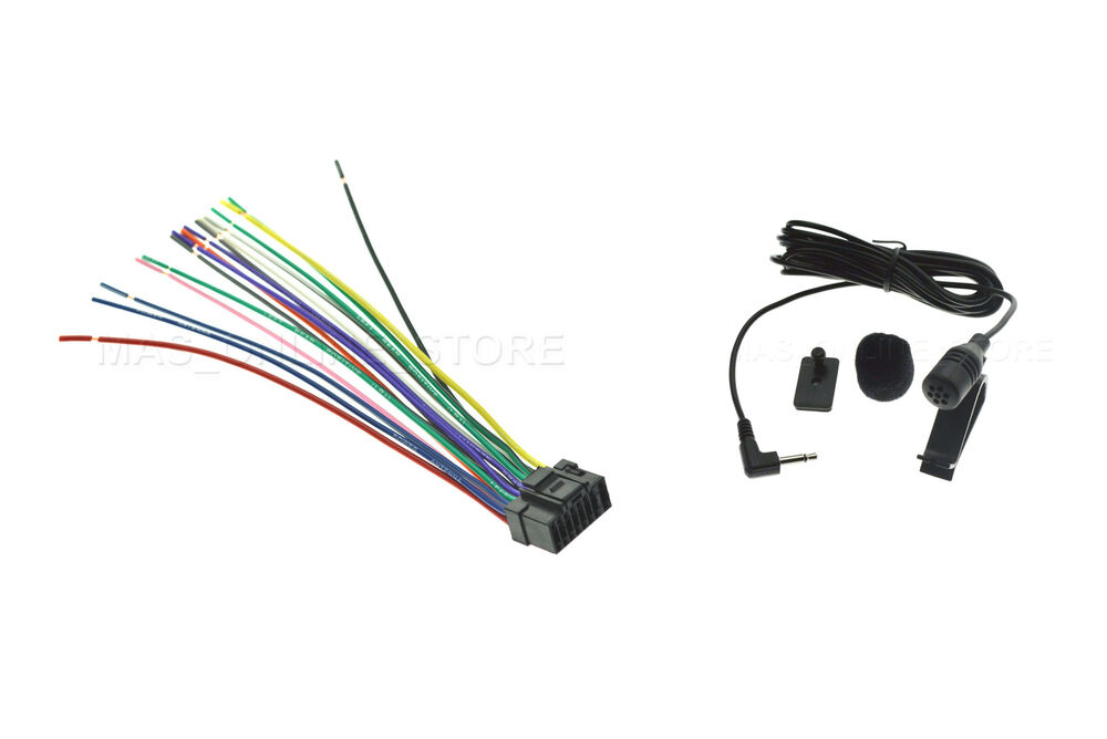 s l1000 wire harness & mic for alpine iva w205 ivaw205 iva w505 ivaw505 alpine iva-w205 wiring harness at crackthecode.co