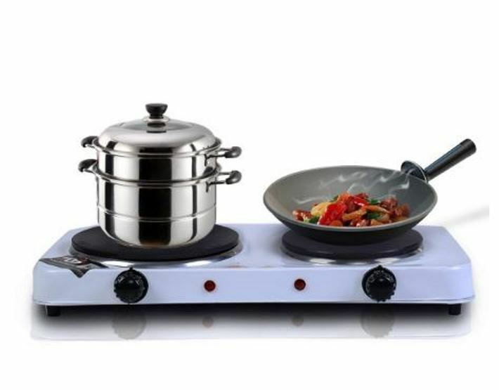 how to clean electric stove hot plates