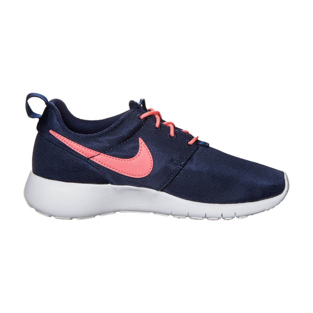 f064400a5629 Details about NEW 599729-411 Girls Nike Roshe Run One (GS)!! BINARY BLUE LAVA  GLOW-WHITE