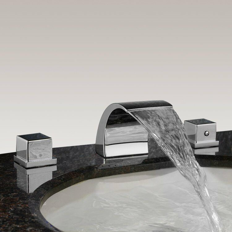 3 loch armatur set badewanne wannenrand wasserhahn. Black Bedroom Furniture Sets. Home Design Ideas