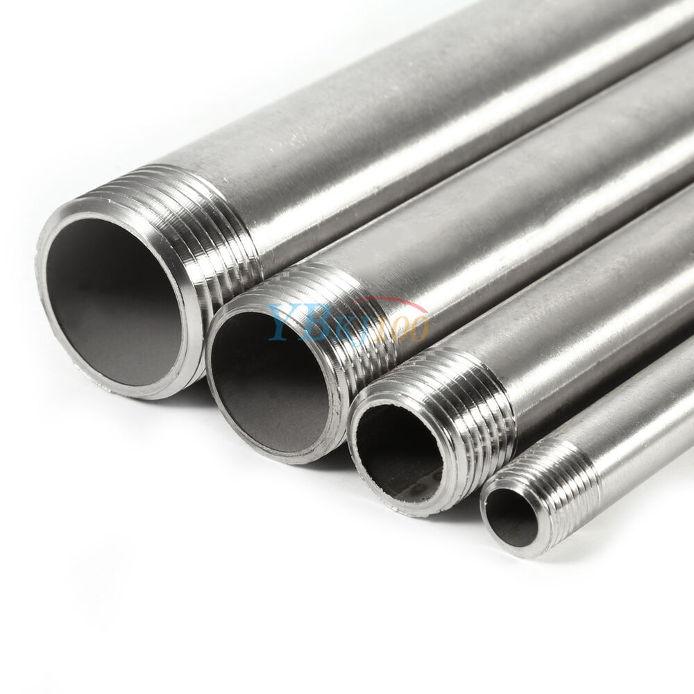 1 4 Quot 1 Quot 304 Stainless Steel Male X Male Threaded Pipe