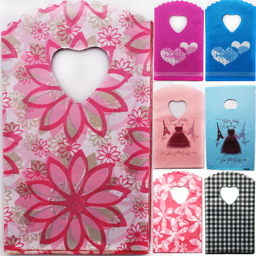 Wedding Gift Bag Cards : ... Love Plastic Bags Cards Jewelry Party wedding Pouches Gift Bag eBay