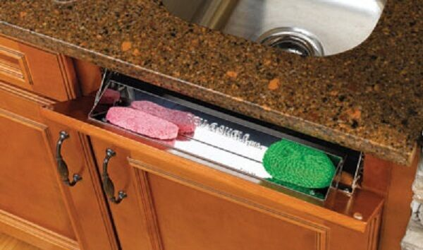 Rev A Shelf Stainless Steel Sink Front Tip Out Tray