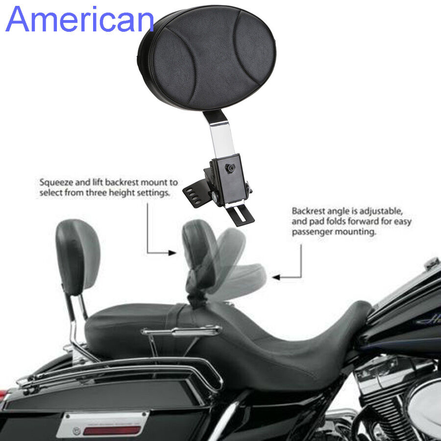 Motorcycle Backrest For Harley Davidson