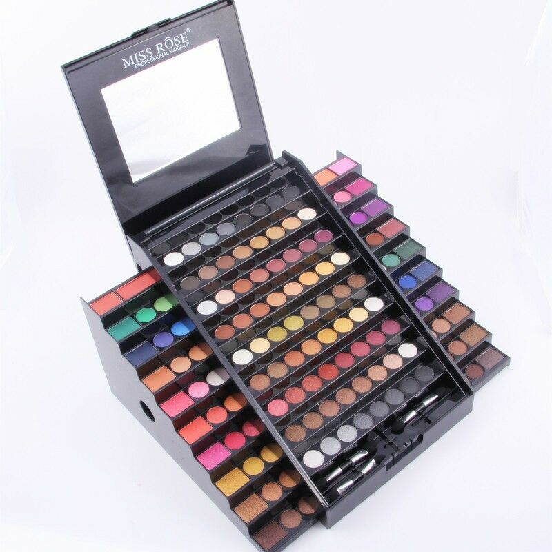 Full Professional Makeup Kit 130 Colors Matte Shimmer ...