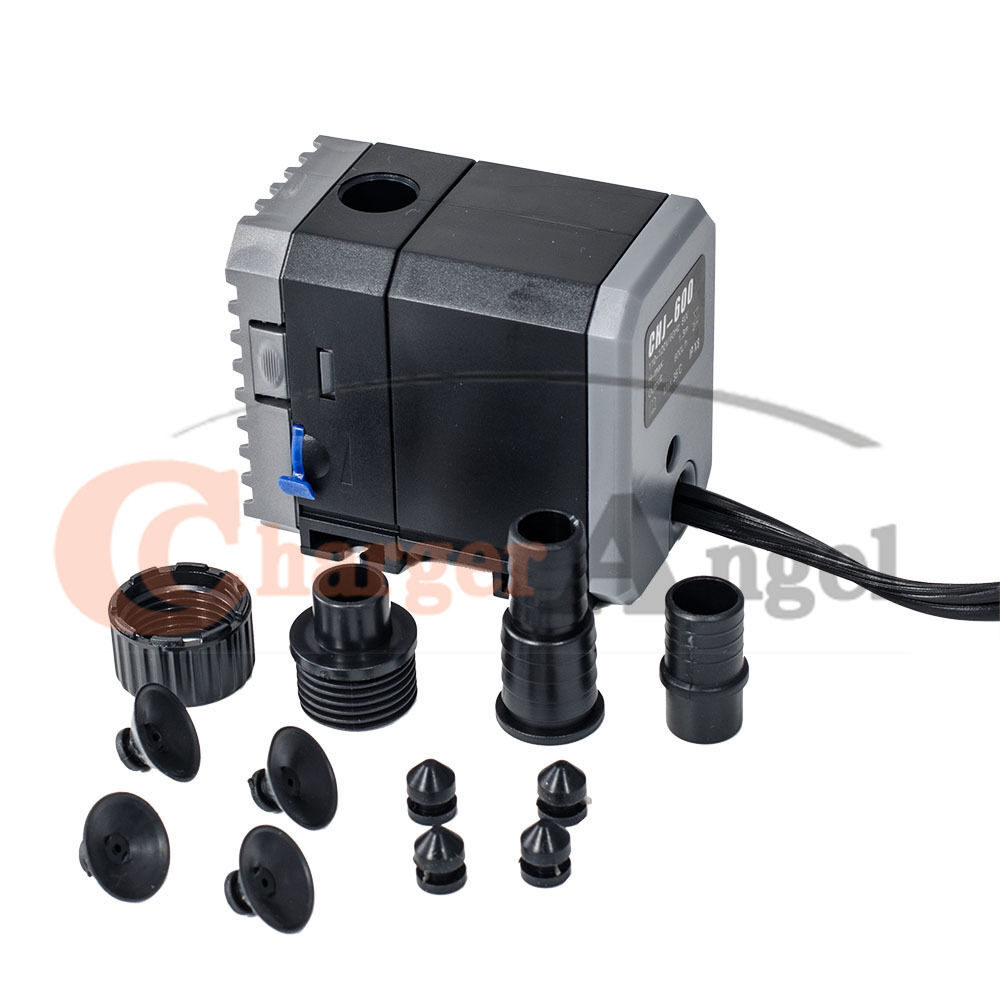 160 gph submersible aquarium pond water pump fountain for Pond water pump
