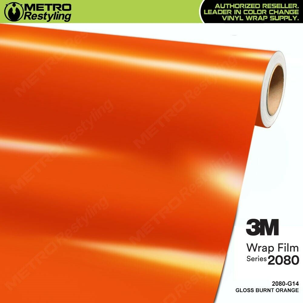 3m 1080 g14 gloss burnt orange vinyl vehicle car wrap decal film sheet roll ebay. Black Bedroom Furniture Sets. Home Design Ideas