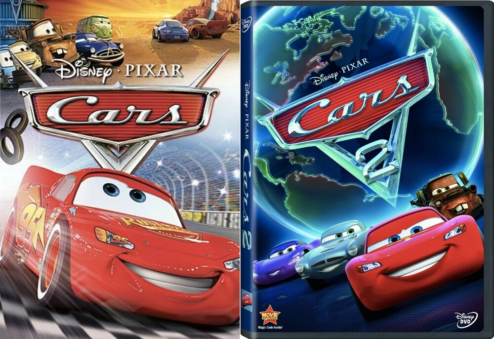cars 1 cars 2 brand new 2 dvd sealed free shipping children animation widescre ebay. Black Bedroom Furniture Sets. Home Design Ideas