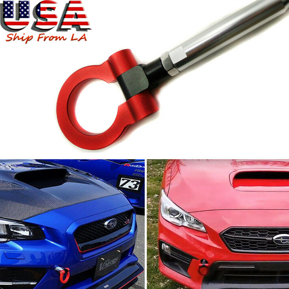 Customized Red Track Racing CNC Aluminum Tow Hook For