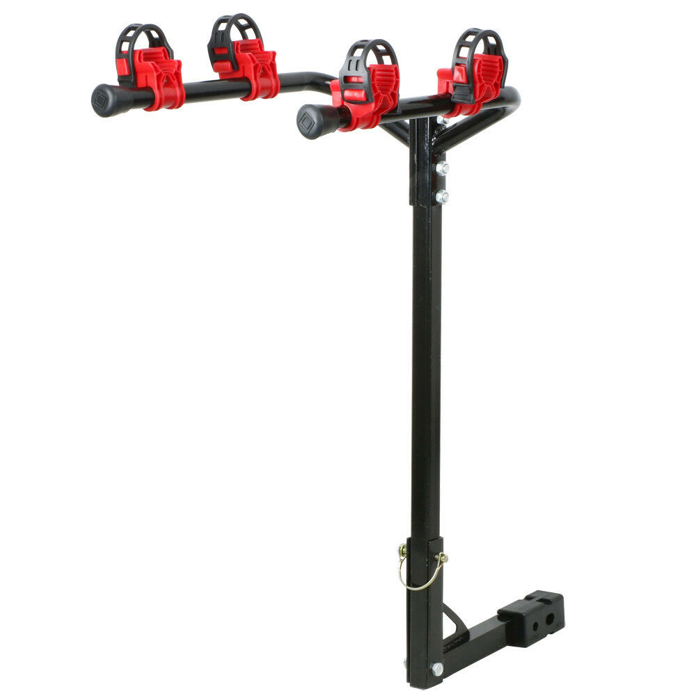 New 2 Bike Bicycle Carrier Hitch Receiver 2/' Heavy Duty Mount Rack Truck SUV