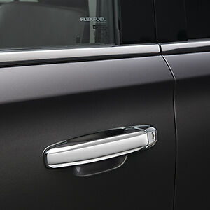 Image is loading CHROME-DOOR-HANDLES-FOR-2015-2017-GMC-YUKON- & CHROME DOOR HANDLES FOR 2015-2017 GMC YUKON AND YUKON XL 22940646 ... Pezcame.Com