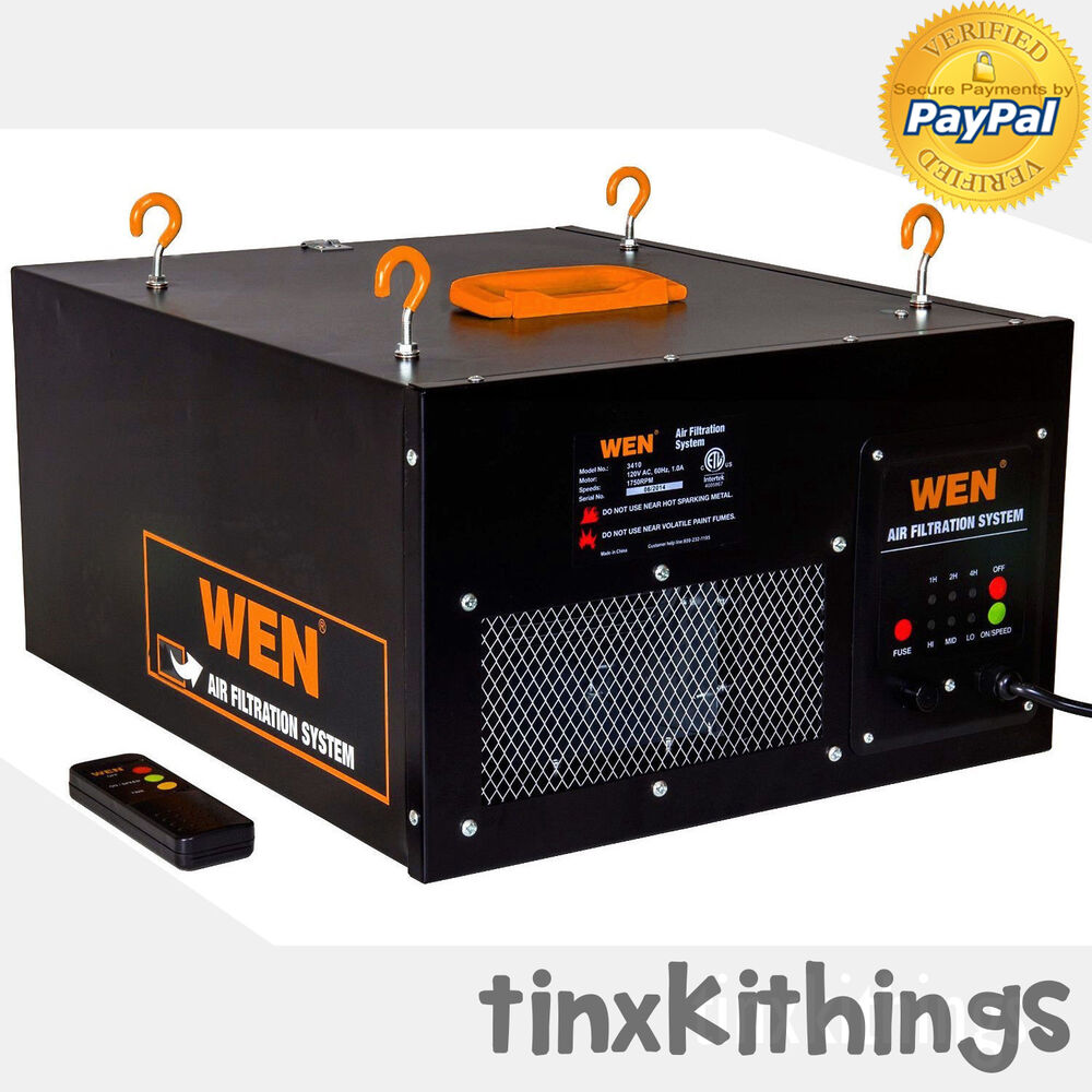 Woodworking Air Cleaner : Woodworking shop air filtration system with beautiful type