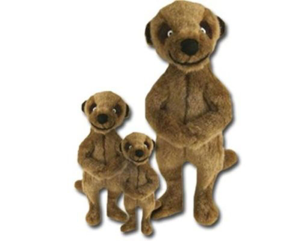 Dog Toys For Boys : Good boy dog puppy toy meerkat soft plush squeaker