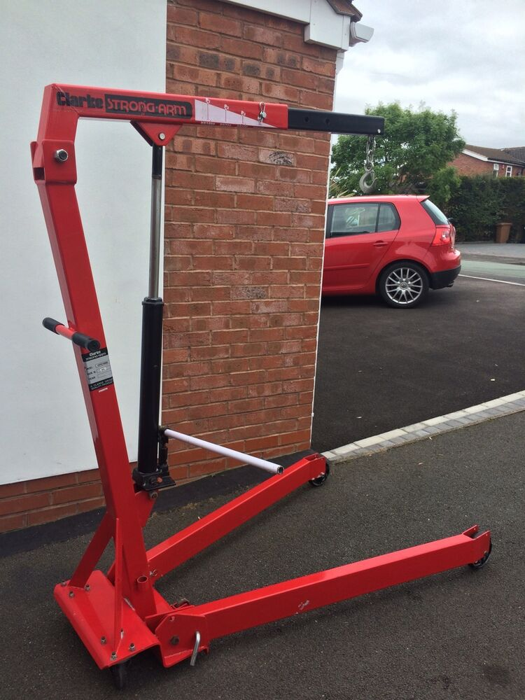 Automotive Lift Rentals : Engine crane hoist lift rent hire car bike boat