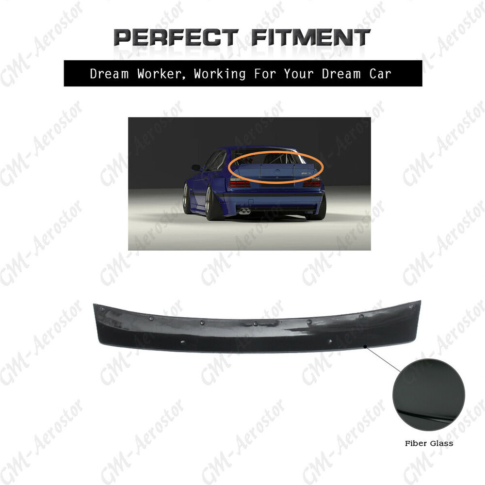 frp reartrunk spoiler wing for92 99 bmw e36 e36 m3 coupe. Black Bedroom Furniture Sets. Home Design Ideas