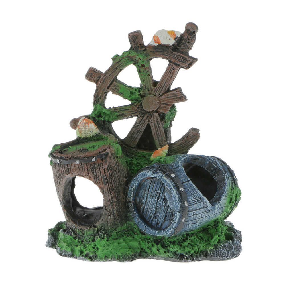 Barrel octopus mountain aquarium ornaments for fish tank for Octopus fish tank