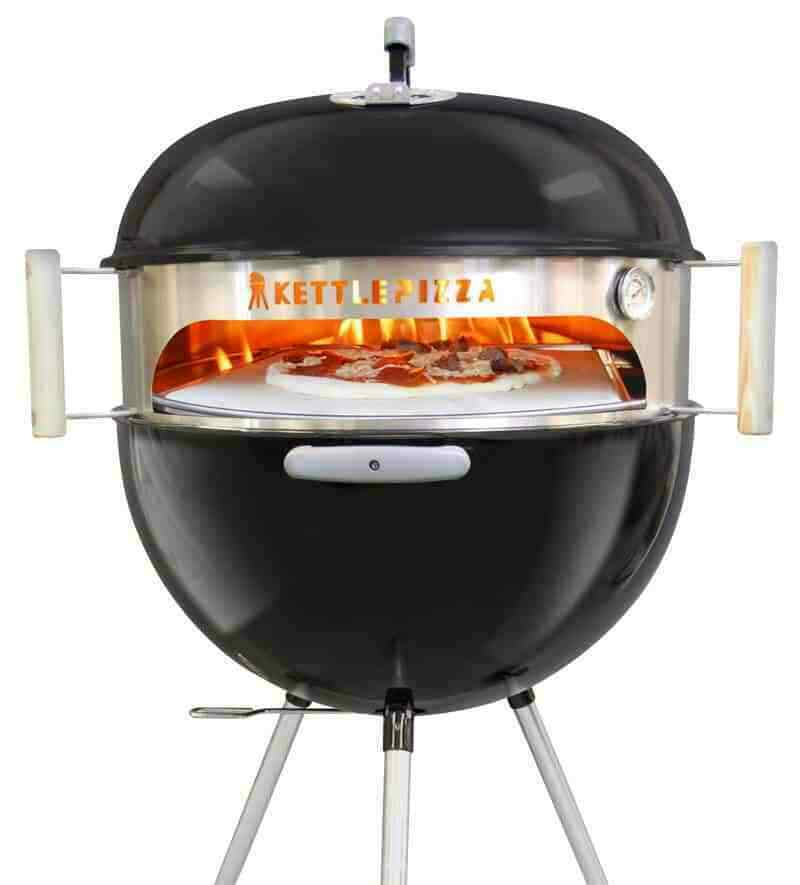kettle pizza oven 22 inch 57cm transform your kettle. Black Bedroom Furniture Sets. Home Design Ideas