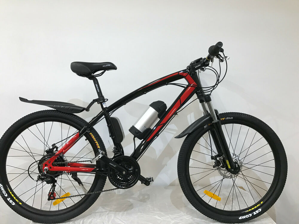 e bike elektrofahrrad mountainbike 26 zoll fahrrad solomo. Black Bedroom Furniture Sets. Home Design Ideas
