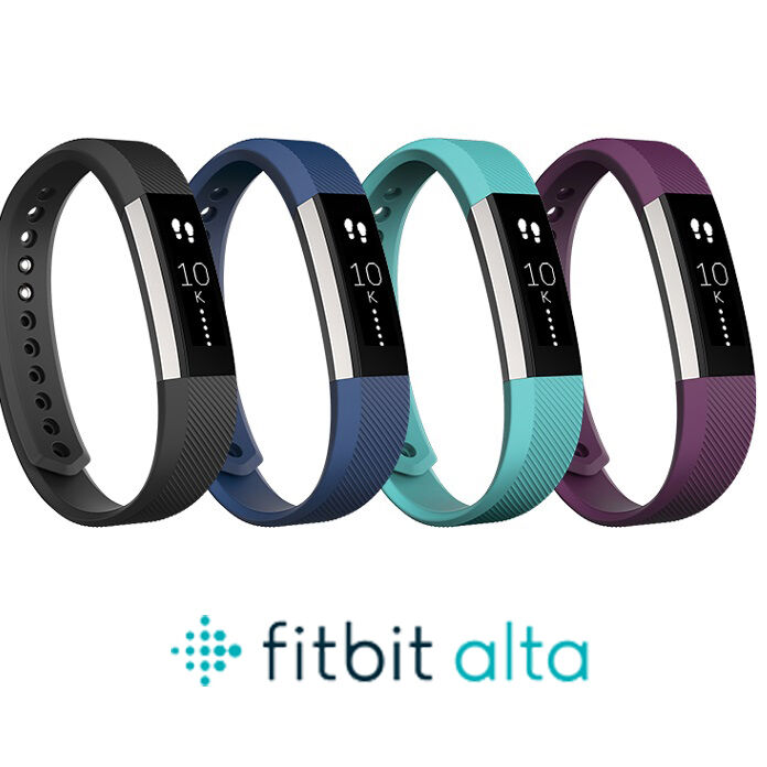 new fitbit alta fitness tracker activity and sleep size color ebay. Black Bedroom Furniture Sets. Home Design Ideas