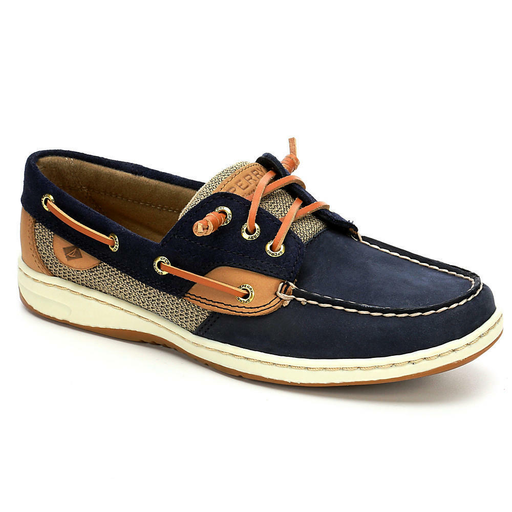 sperry top sider rosefish braid navy linen s boat