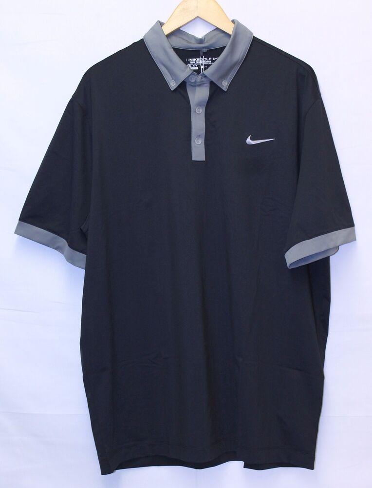 Men 39 s nike golf tour performance stay cool dri fit s s for Cool dri polo shirts