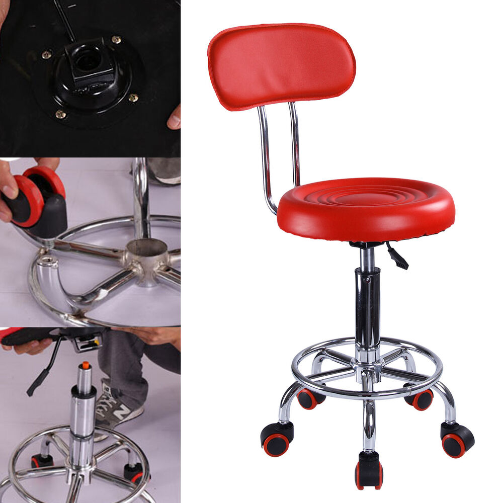 Red Salon Chair Hairdressing Spa Beauty Massage Tattoo