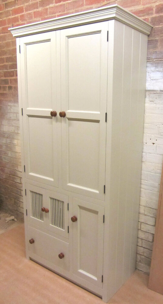 1000 X 600 MURDOCH TROON FREESTANDING PINE KITCHEN LARDER PANTRY CUPBOARD UNI