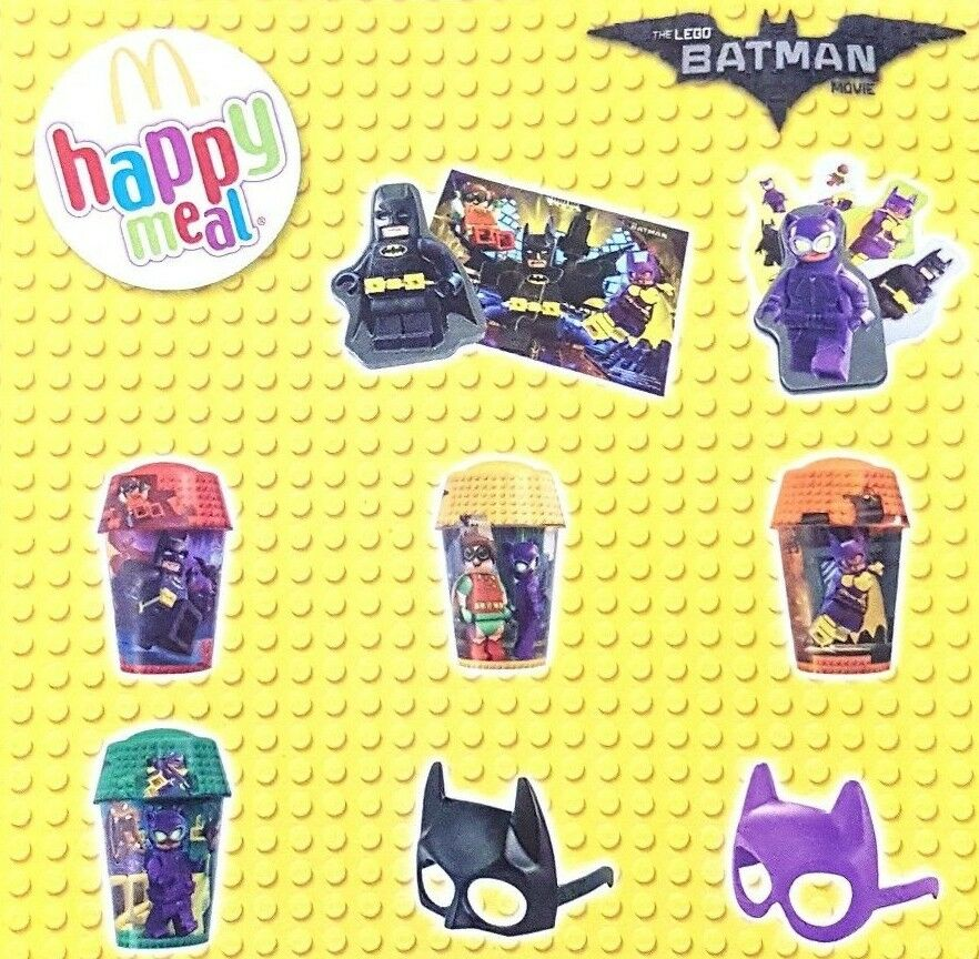 McDonalds Happy Meal Toy 2017 BATMAN + Lego - VARIOUS | eBay