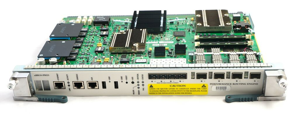 Cisco UBR10-PRE5-40G Performance Routing Engine 5 with 40G license for  UBR10012 | eBay