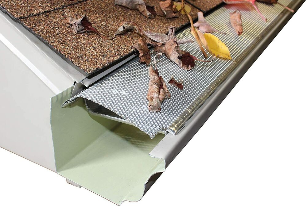 Aluminum Speed Screen Leaf Guard For Gutters 5 4