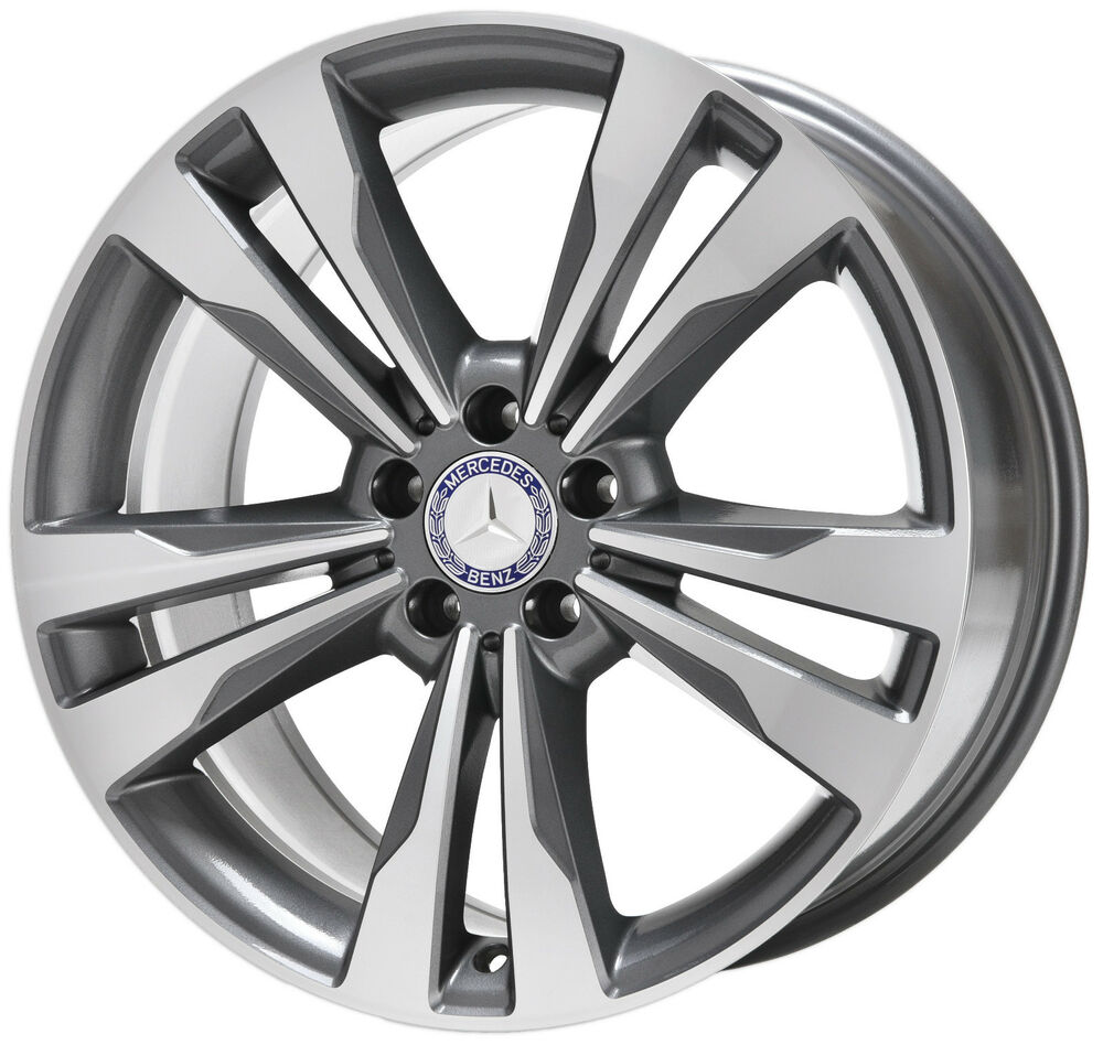 19 mercedes s s550 s600 wheel rim factory oem 19x9 5 rear for Mercedes benz s550 parts and accessories