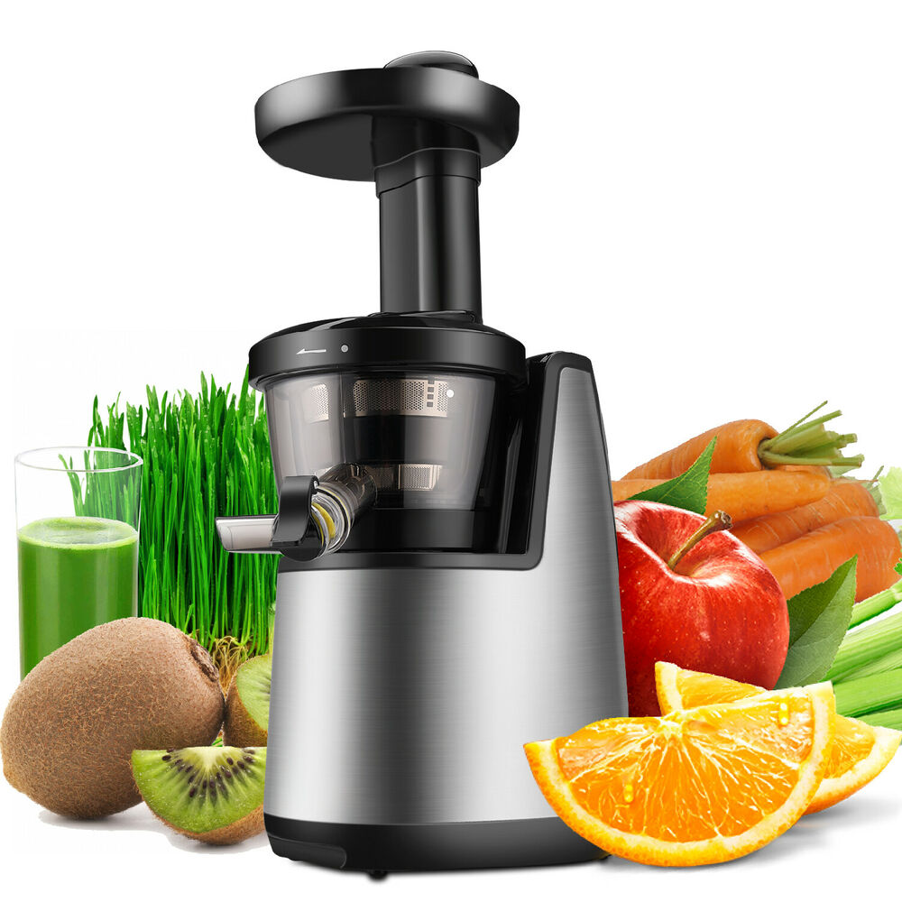 Cold Press Juicer Machine Masticating Slow Juice Extractor