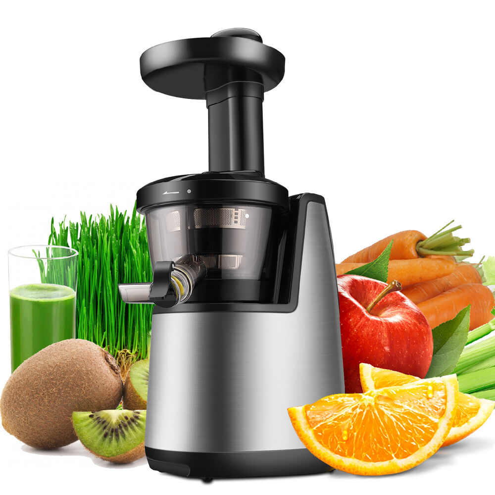 Cold Press Juicer Machine Masticating Slow Juice Extractor Maker Fruit vegetable eBay