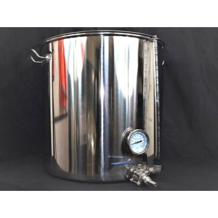 img-100ltr stainless steel stockpot tank tap Thermometer sight glass mash tun Kettle