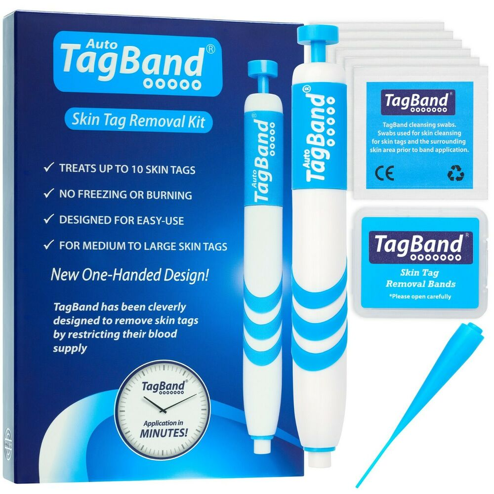 Auto TagBand Skin Tag Removal Device Kit. The Fast ...