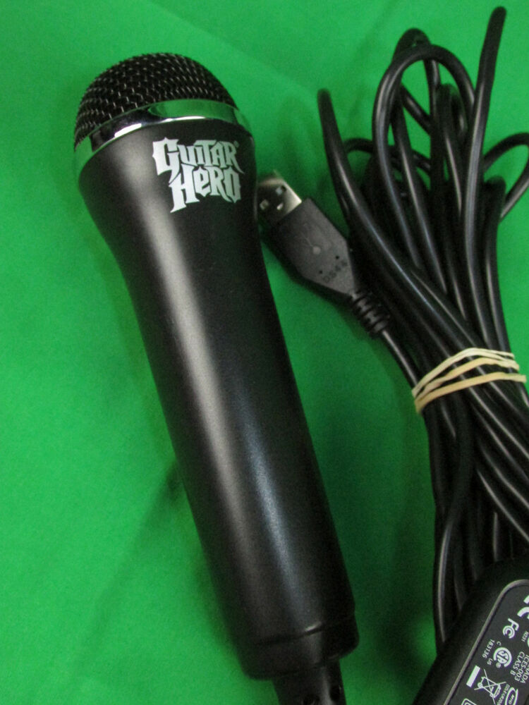 redoctane guitar hero wired usb microphone mic e ur20 ps3 xbox 360 wii pc 695975014796 ebay. Black Bedroom Furniture Sets. Home Design Ideas