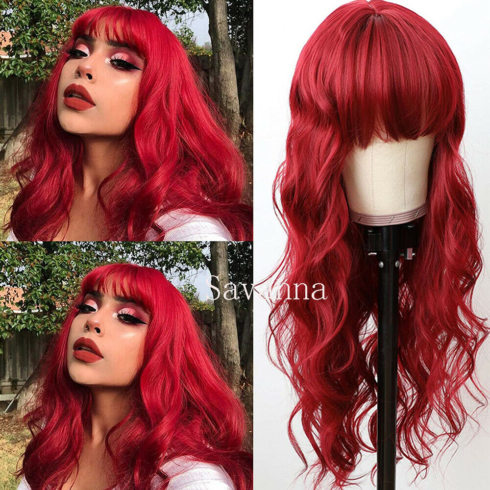 Long Kinky Curly Wigs Synthetic Lace Front Wig Heat