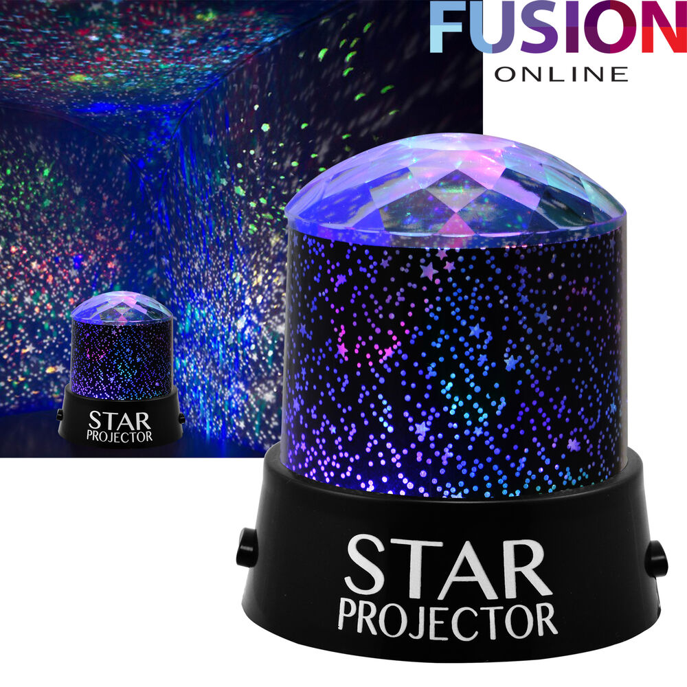 Room Sky Children Baby Star Night Light Projector Lamp ...