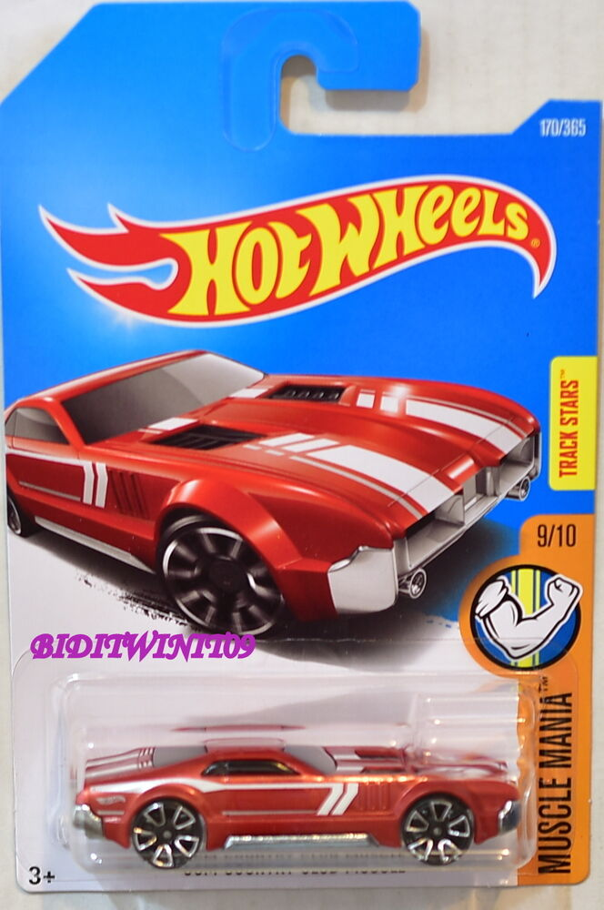 Camaro 2018 Ss >> HOT WHEELS 2017 MUSCLE MANIA CCM COUNTRY CLUB MUSCLE #9/10 RED | eBay