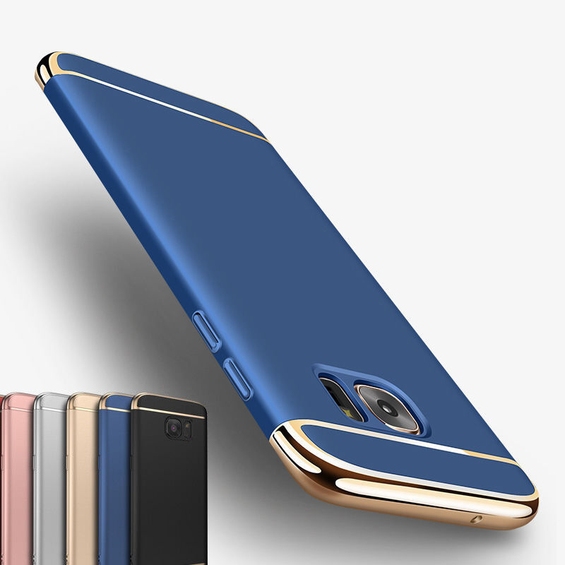 f998a2407ad Details about Ultra thin Slim Hard Case Full Protective Cover For Samsung  Galaxy S6 S7 Edge S8