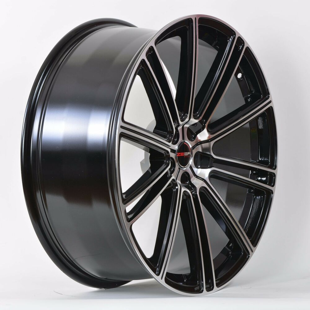 4 gwg wheels 18 inch black machined flow rims fits 5x112 volkswagen beetle tdi ebay. Black Bedroom Furniture Sets. Home Design Ideas