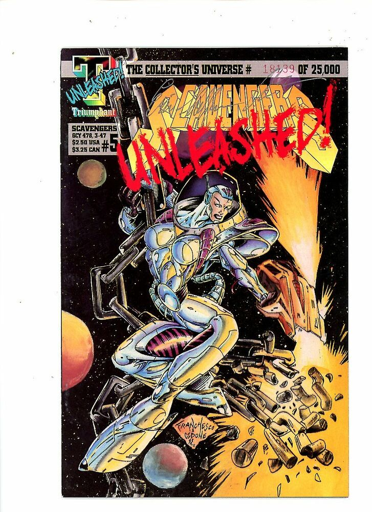 Collectibles Scavengers Issue #2 Triumphant Comics Collectible Comic Book