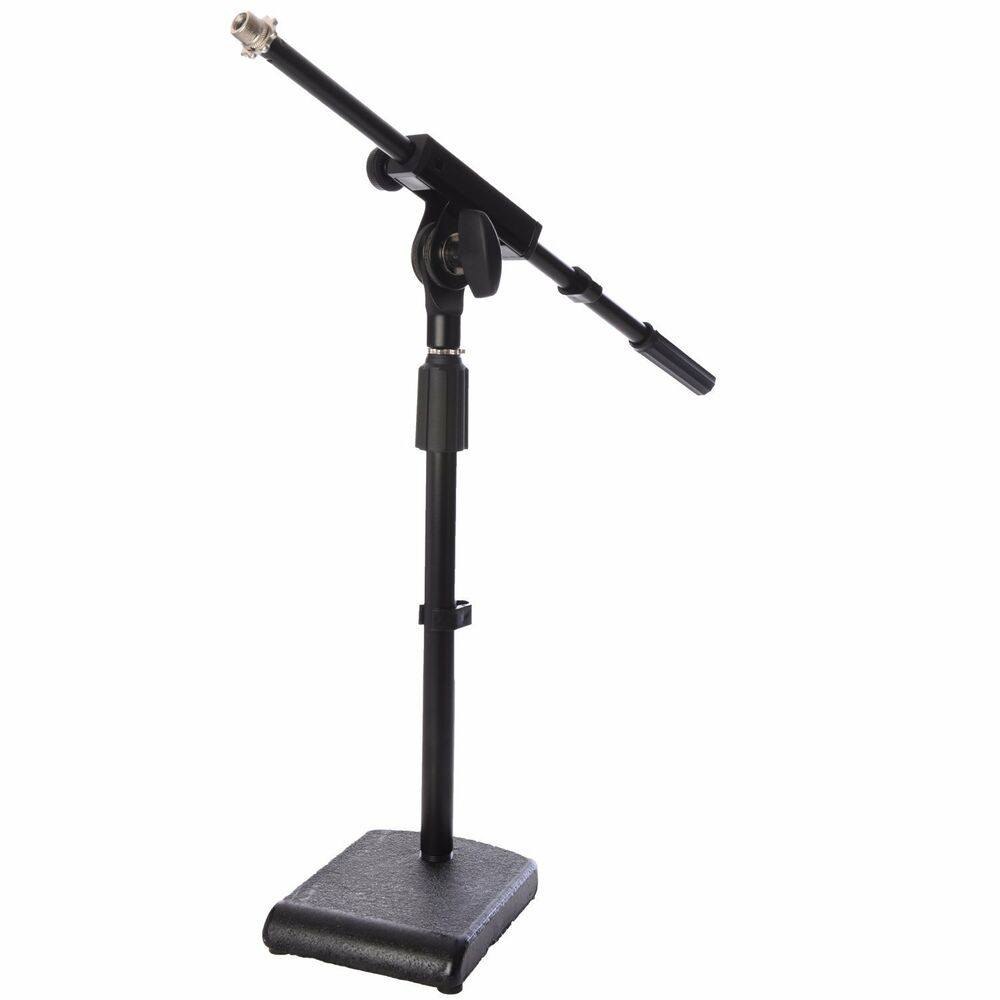 lyxpro kds 1 kick drum mic stand adjustable microphone boomstand ebay. Black Bedroom Furniture Sets. Home Design Ideas