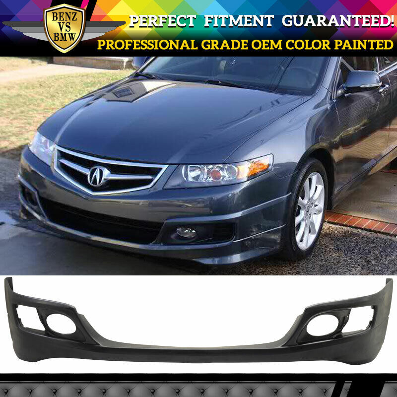 2008 Acura Tl Oem Style Lip Spoiler: 06-08 Acura TSX OE Front Bumper Lip Spoiler OEM Painted