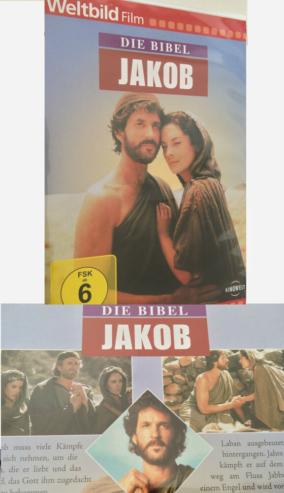 dvd die bibel jakob das alte testament film bibelfilm bibelgeschichte deutsch ne ebay. Black Bedroom Furniture Sets. Home Design Ideas