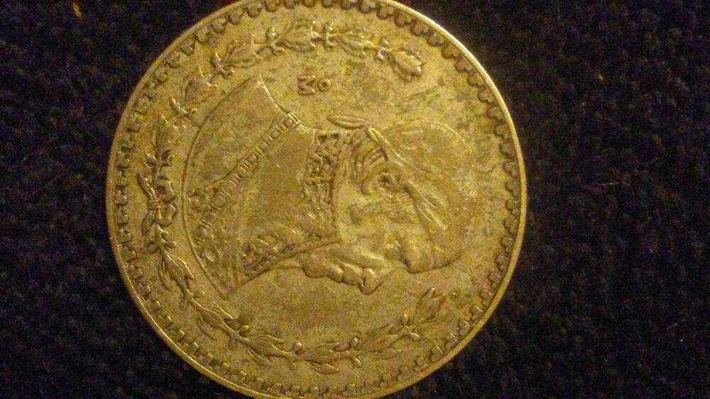 Old Mexican Silver Coin Ebay
