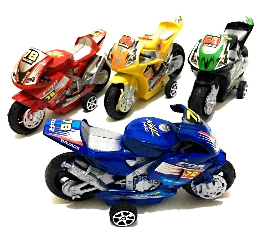 street motorbike toy machine motorcycle power gift pull friction motorcycles plastic