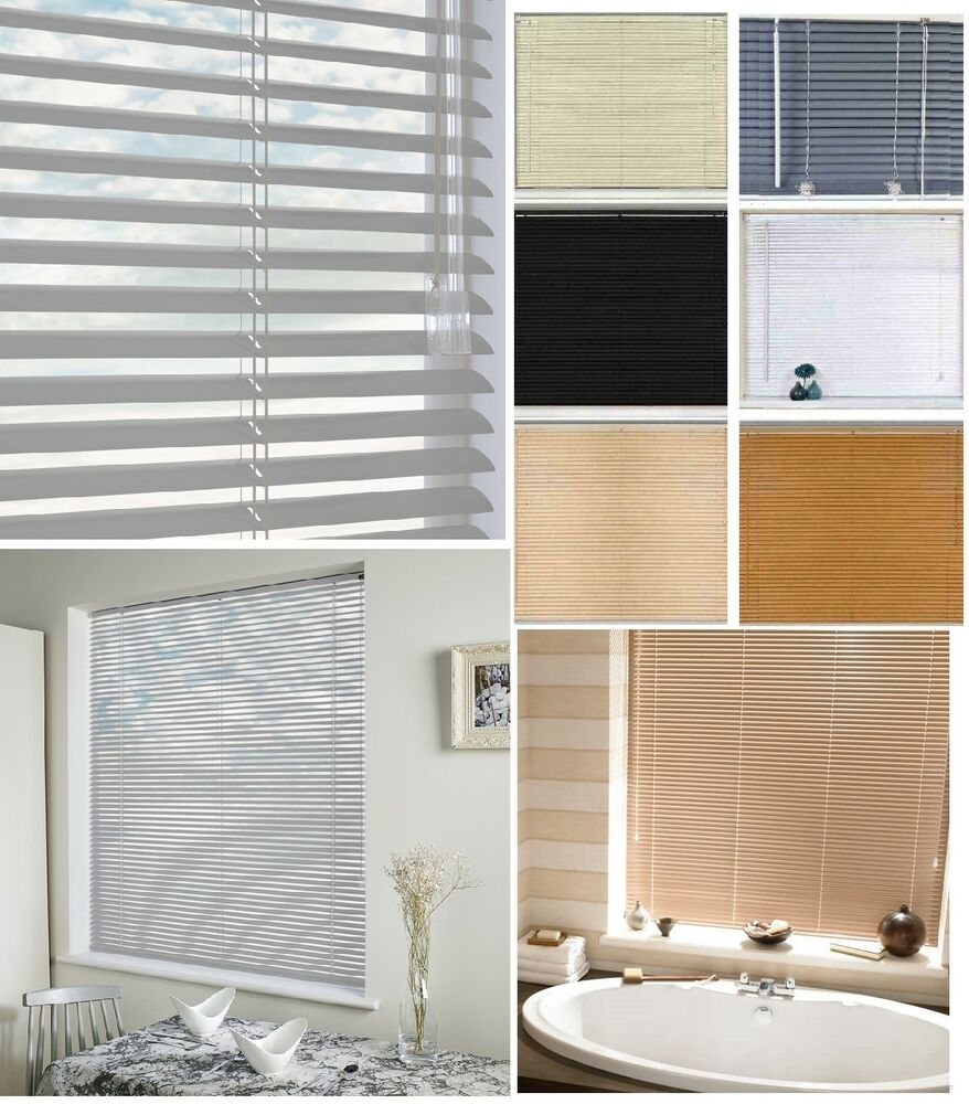 Pvc Venetian Blinds Window Blind Easy Fit Trimable Home