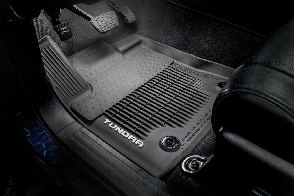 2014 2017 Tundra Floor Liners All Weather Crewmax Genuine