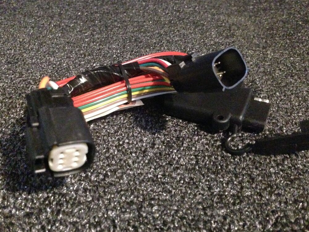harley davidson trailer wiring harness plug and play flh